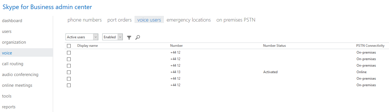 Quick Tip: Create sort-able PowerShell list of Voice Users
